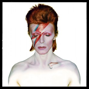 David Bowie as Aladdin Sane. Photography by Brian Duffy