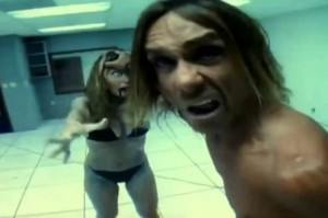 Iggy Pop & Peaches. Kick It. 2005. Still from YouTube