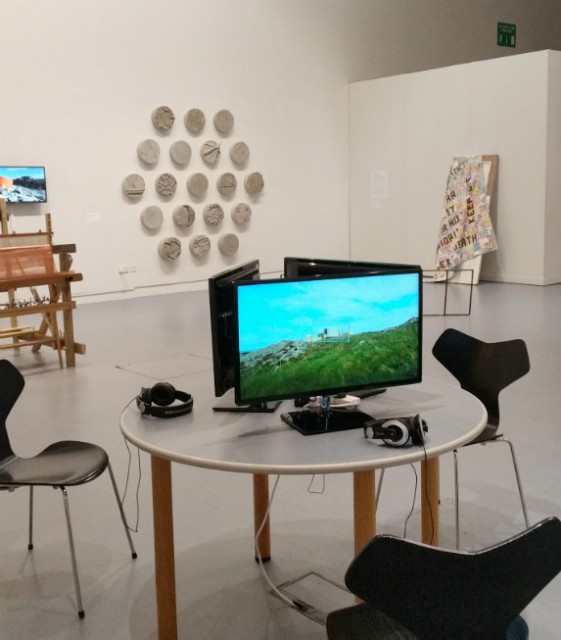 Installation shot, Power in The Land