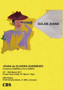 Exhibition Opening: Gulab Joana 7—9pm @ Crown Building Studios, Liverpool