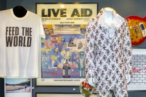 Live Aid cabinet, British Music Experience