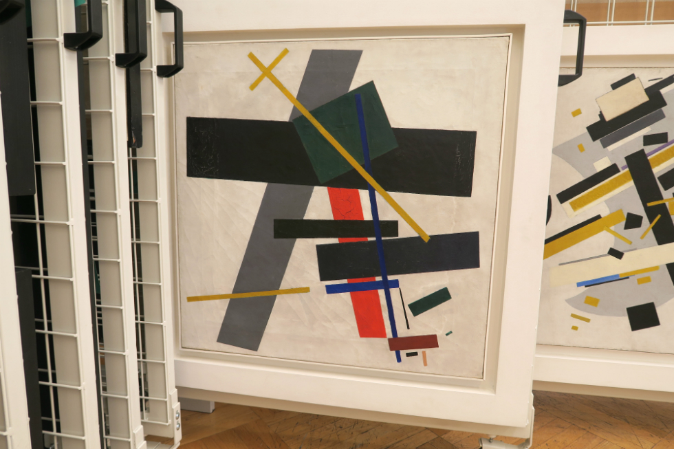 Malevich. Suprematism 1915-16. Featured in Revolution: New Art For A New World