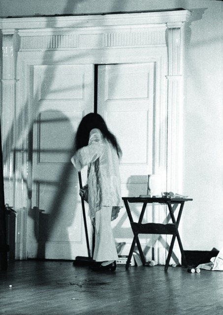 Yoko Ono performing at the Bluecoat in 1967. Courtesy the Bluecoat archive