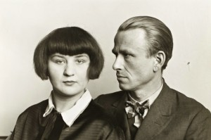 August Sander The Painter Otto Dix and his Wife Martha 1925-6, printed 1991 © Die Photographische Sammlung / SK Stiftung Kultur – August Sander Archiv, Cologne / VG Bild-Kunst, Bonn and DACS, London 2017