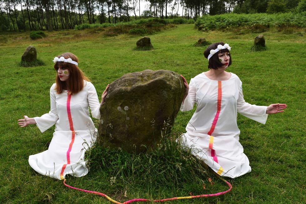 New Henge Heritage at Nine Ladies - photo credit Arianne Churchman & Chloe Langlois