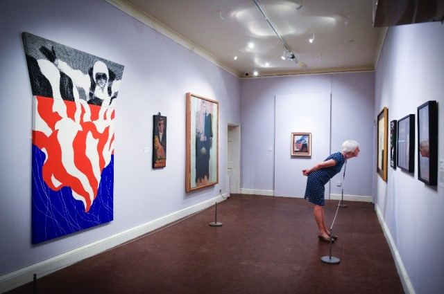 Painting Pop: Paintings from 1960s Britain is on show at Abbot Hall Art Gallery, Kendal, until 7 October 2017