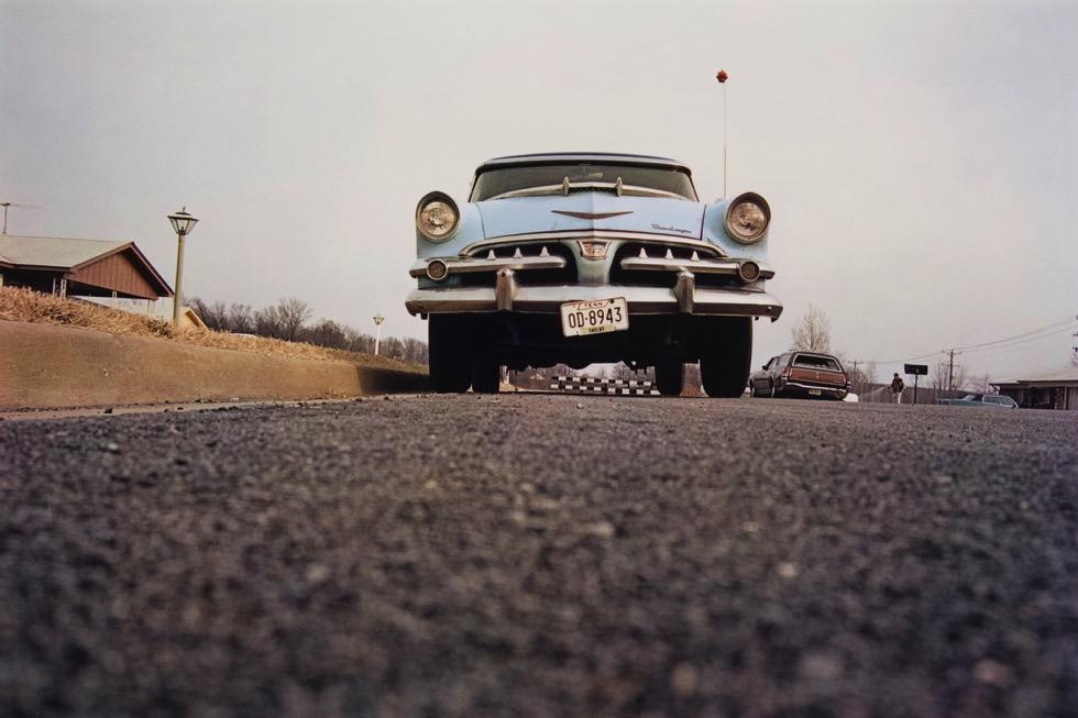 William Eggleston, Memphis Dust Bowls Vol I, 1970, dye-transfer print. © Eggleston Artistic Trust. Courtesy David Zwirner, New York/London and Wilson Centre for Photography.