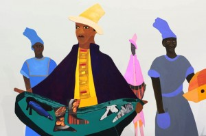 Lubaina Himid: Warp and Weft, courtesy the artist and firstsite