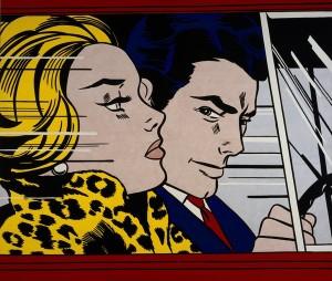 Roy Lichtenstein, In the Car 1963 © Estate of Roy Lichtenstein/DACS 2017. Photo: Antonia Reeve