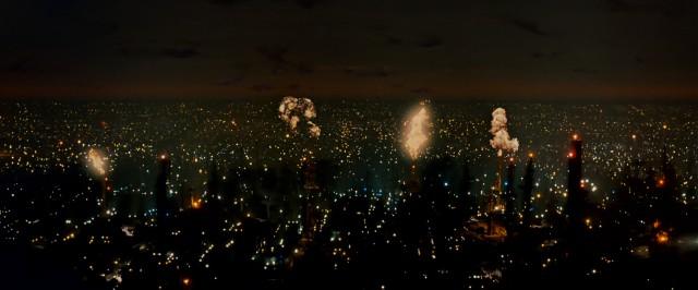 A still from Ridley Scott's Director's Cut of Blade Runner in 1992,