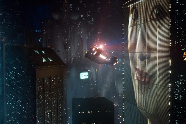 A still from Ridley Scott's Final Cut of Blade Runner