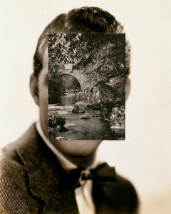 John Stezaker, Mask XII, 2005. Collage.
