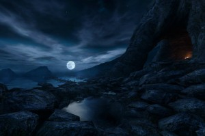 Still from Dear Esther gameplay, courtesy The Chinese Room