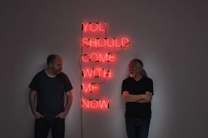 You-Should-Come-With-Me-Now-Neon-2017-Tim-Etchells-pictured-with-Mike-Harrison-R-and-Tim-Etchells-L-Image-Hugo-Glendinning_slider
