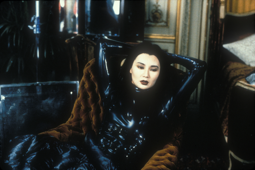 Maggie Cheung in Irma Vep (1996) -- still