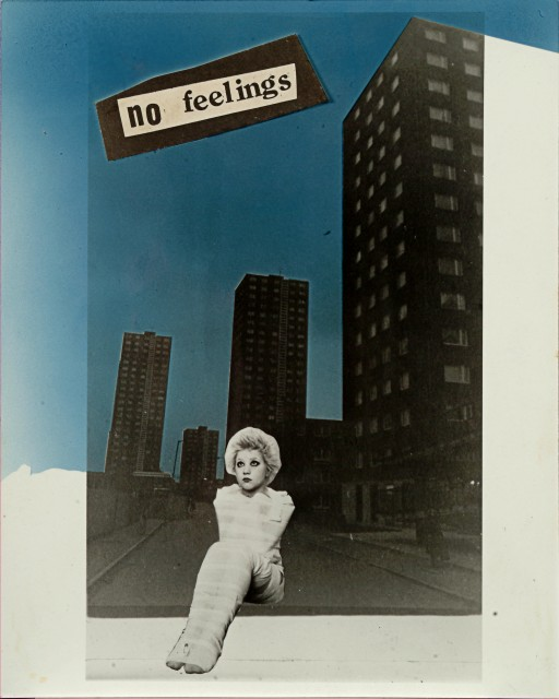 'No Feelings, 1977' By Jamie Reid