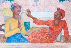 Missionary Position II 1985 by Sonia Boyce born 1962