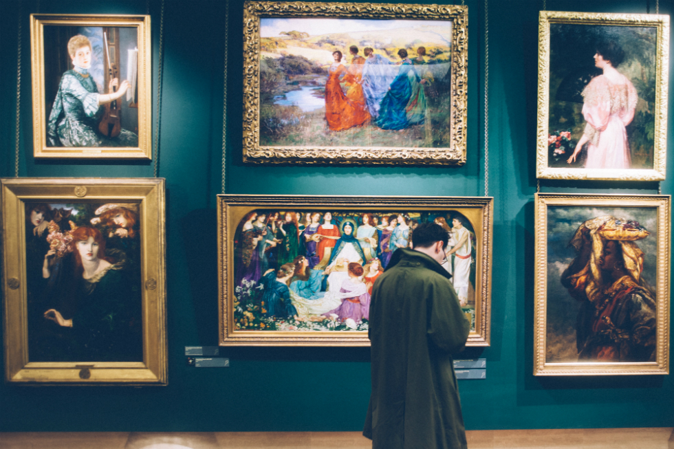 Museum life... Photo courtesy Clem Onojeghuo on Unsplash
