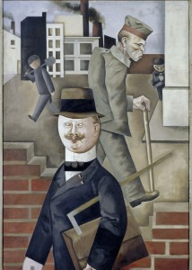 George Grosz, Grey Day 1921. Nationalgalerie Berlin © Estate of George Grosz, Princeton, N.J.
