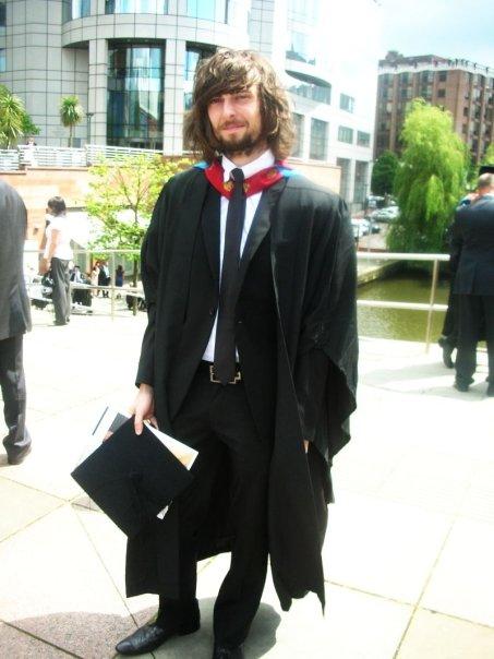 Alec Dudson graduate pic