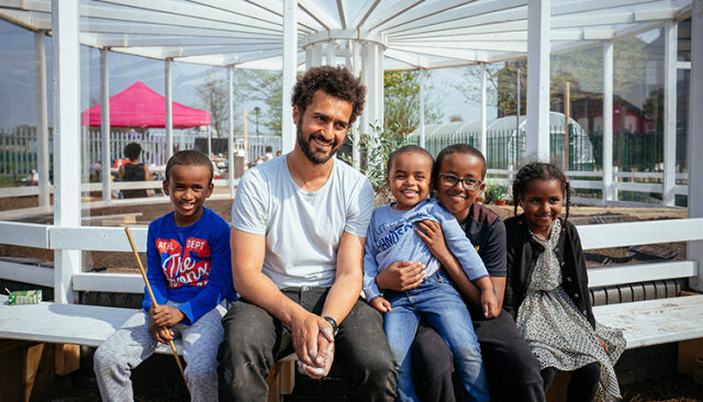 Mohamed Bourouissa's 'resilience' garden in Toxteth