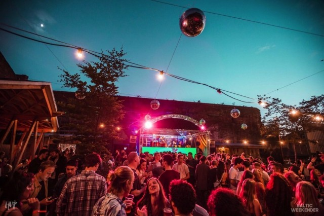 Baltic Weekender, June 2017, at Constellations, image courtesy Baltic Triangle;