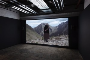 Aslan Gaisumov, Keicheyuhea, 2017. Installation view at St George's Hall, Liverpool. Biennial 2018. Photo: Thierry Bal