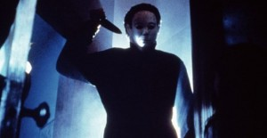 Michael Myers in John Carpenter's Halloween (1978), still