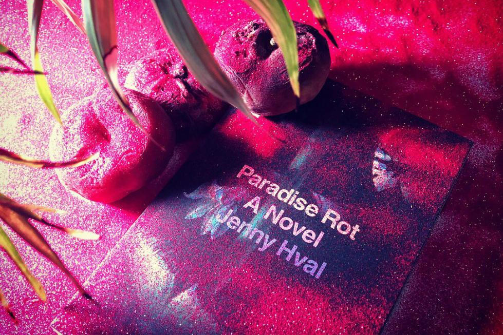 Paradise Rot: A Novel by Jenny Hval. Images courtesy Verso