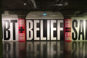 Barbara Kruger, Museum of Contemporary Art Toronto. Photo by Mike Pinnington.