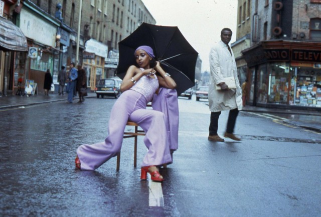 5. Armet Francis, 'Fashion Shoot Brixton Market', 1973. Courtesy of the artist