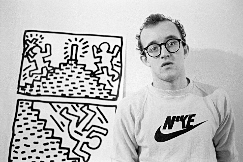 Joseph Szkodzinski Keith Haring Drawing Series [02]