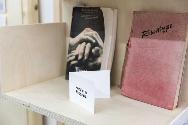 Public -- You & Me Library, at AirSpace Gallery, Stoke (detail). Photo by Glen Stoker 2019.