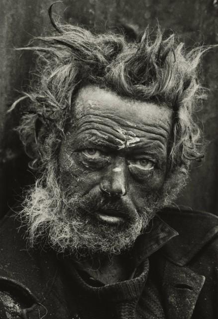 Homeless Irishman Spitalfields London