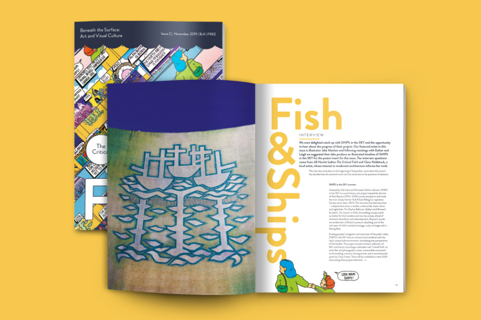 The Critical Fish Issue 2 Launch 6pm @ 16 Humber Street, Hull – FREE