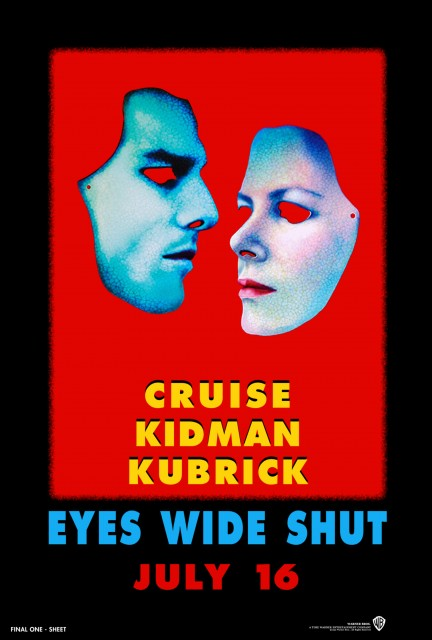 Unused poster designs for Eyes Wide Shut (1999) by Christiane and Katharina Kubrick Credit: Courtesy: Stanley Kubrick Film Archives LLC, Warner Bros. and University of the Arts London
