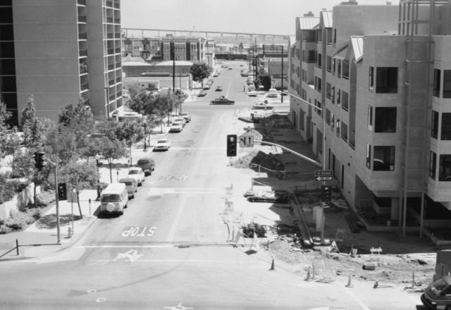 Stephen Clarke, San Diego downtown, 1987