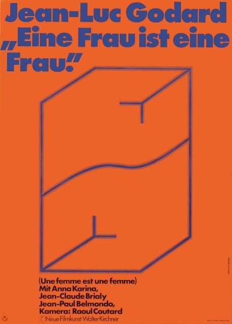 Une Femme est une femme (1961), German one sheet Hans Hillmann.jpg (1)