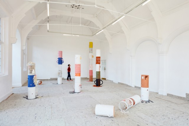 Installation view_ Jonathan Baldock, Facecrime, solo exhibition, Camden Arts Centre, London,2019. Courtesy the artist and Stephen Friedman Gallery, London. Photo_ Luke Walker (4)