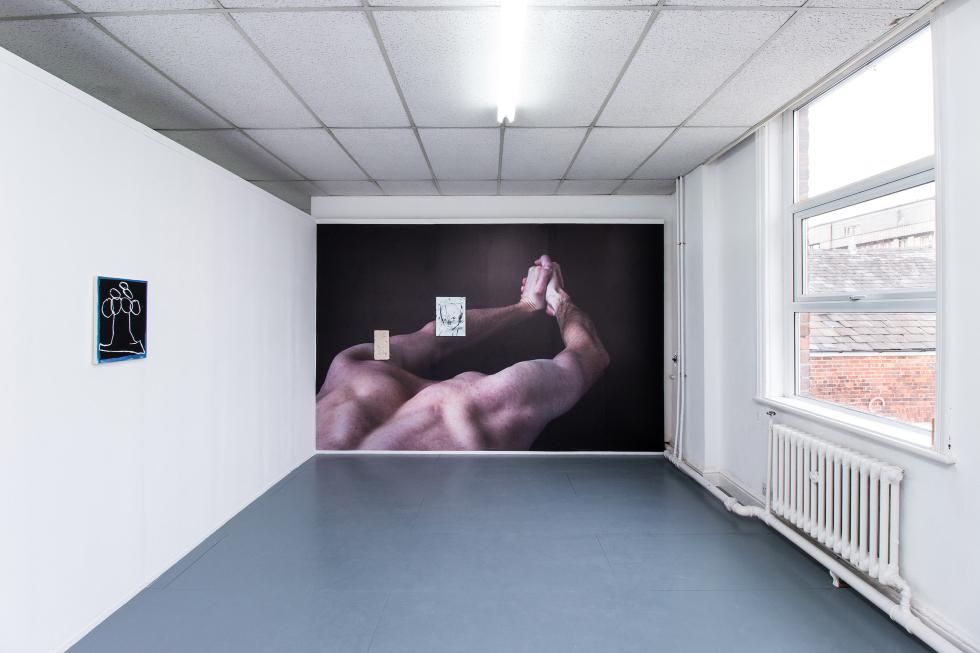Elbows at Dawn, Matt Antoniak and Matt Wilkinson, curated by MILK, Abingdon Studios Project Space (2018)