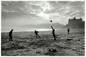 Fishermen playing during their lunch break, Scarborough, Yorkshire 1967 © Don McCullin