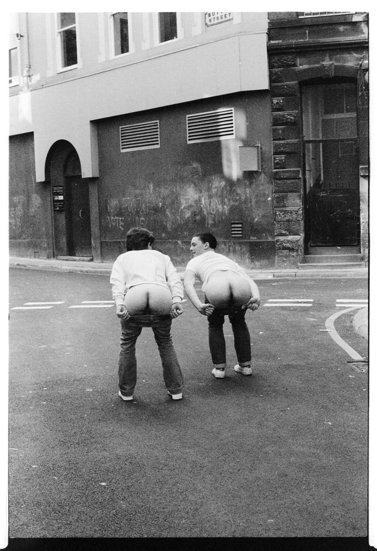 'No Future', Button Street, L2, 1980, courtesy Ian Clegg
