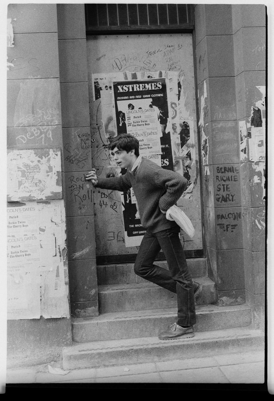 Xstremes (posing boy), L1, 1980, courtesy Ian Clegg
