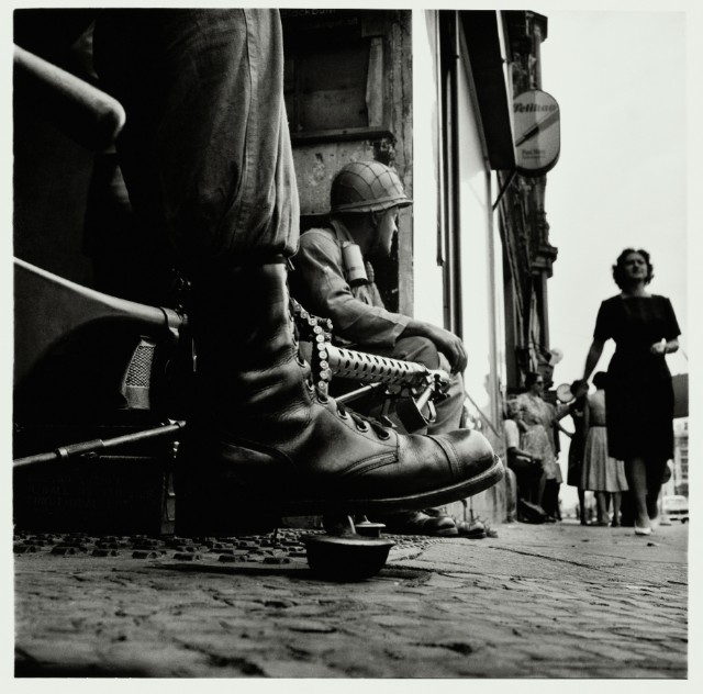 Near Checkpoint Charlie, Berlin 1961 Tate Purchased 2012 © Don McCullin