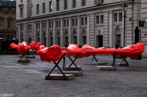 Osteoclast (2021) by Teresa Solar at Exchange Flags. Photograph by Mark McNulty-web