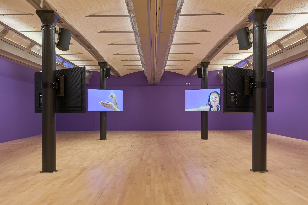 Martine Syms, Borrowed Lady, 2016. Installation view at Tate Liverpool, Liverpool Biennial 2021. Photography_ Rob Battersby-web